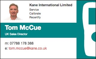 Uk sales director card