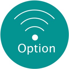 Icon wireless option