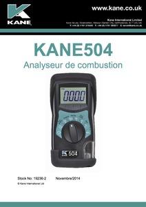 KANE504 Manual FR