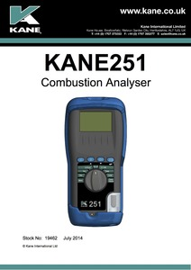 KANE251 Manual - English