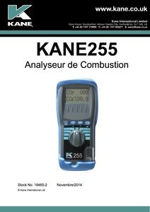 KANE255 Manual - French