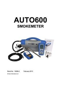 AUTO600 Manual