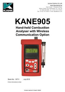 KANE905 - Manual English