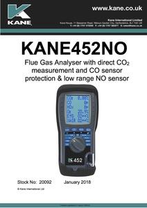 KANE452NO Manual - English