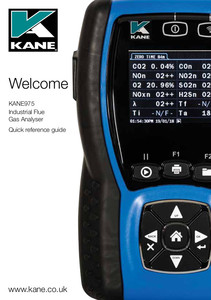 KANE975 quick reference guide