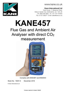 KANE457 Manual
