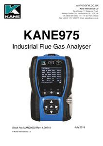 KANE975 Manual