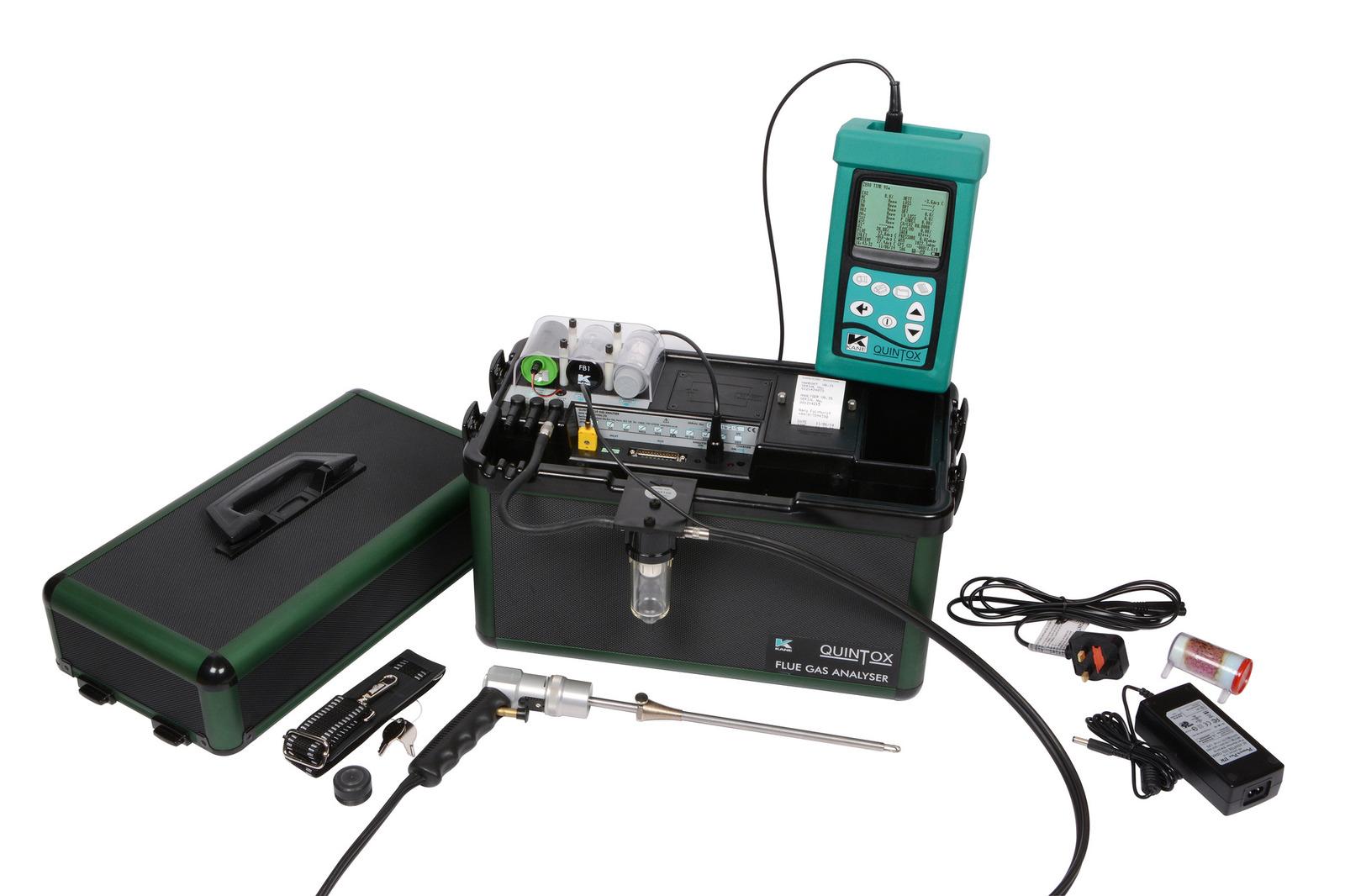 Kane9206 Quintox Emissions Monitoring Solution Kane Beam Vacuum Wiring Diagram Kit Standard