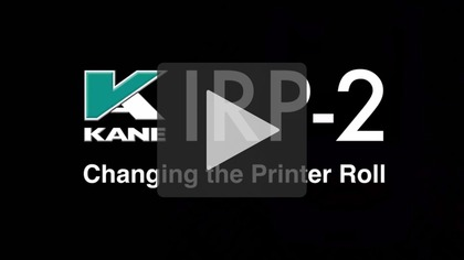 KANE IRP-2 Changing the Printer Roll